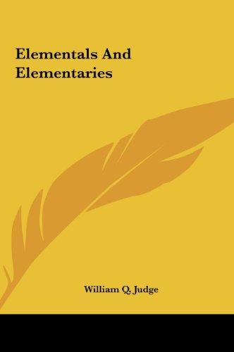 9781161525670: Elementals and Elementaries Elementals and Elementaries