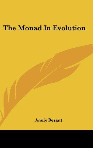 9781161536270: The Monad In Evolution