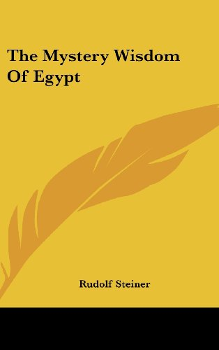 9781161538618: The Mystery Wisdom Of Egypt