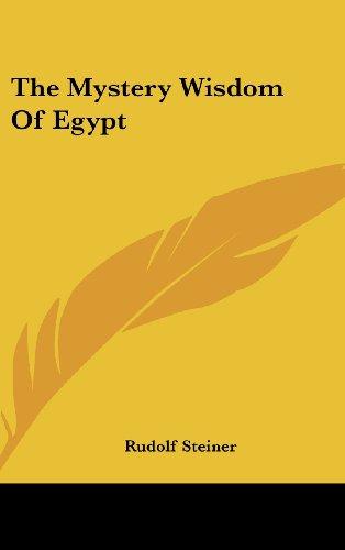 9781161538618: The Mystery Wisdom Of Egypt