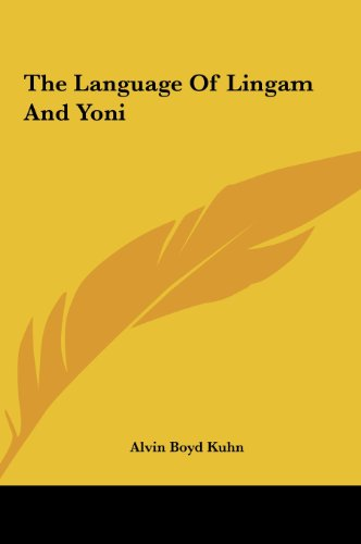 9781161541571: The Language Of Lingam And Yoni