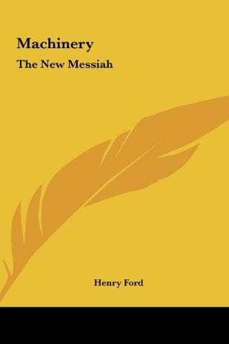 9781161546453: Machinery: The New Messiah