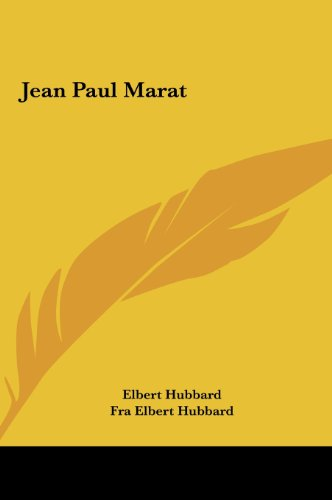 9781161555110: Jean Paul Marat