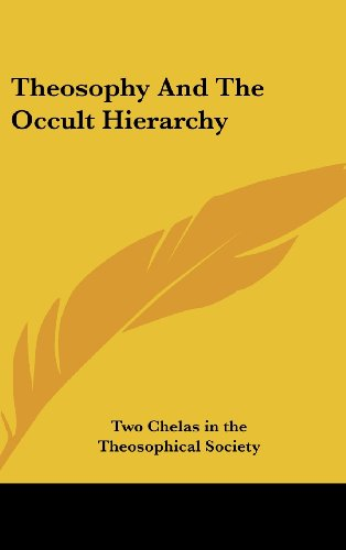 9781161558043: Theosophy And The Occult Hierarchy