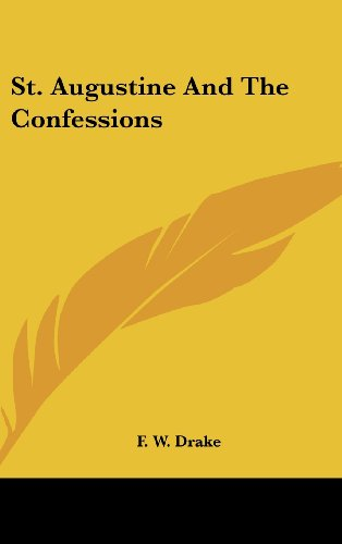 9781161562095: St. Augustine And The Confessions
