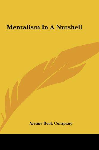 9781161562330: Mentalism In A Nutshell
