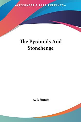 9781161563757: The Pyramids And Stonehenge