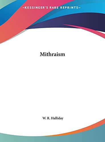 9781161564242: Mithraism