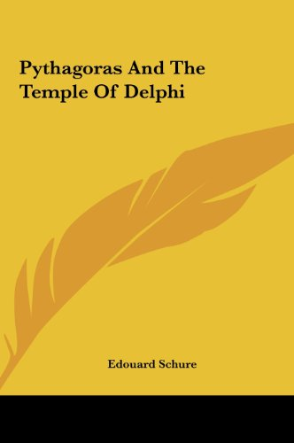 9781161565676: Pythagoras And The Temple Of Delphi
