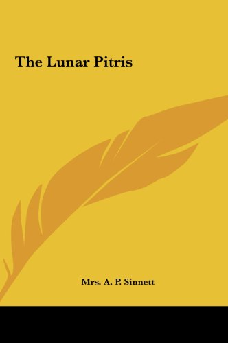 9781161567229: The Lunar Pitris