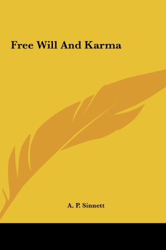 9781161567298: Free Will And Karma