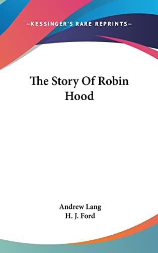 9781161568264: The Story Of Robin Hood