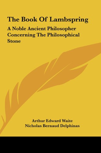 9781161571554: The Book Of Lambspring: A Noble Ancient Philosopher Concerning The Philosophical Stone