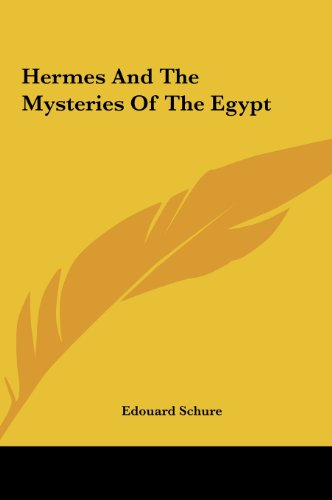 9781161588316: Hermes And The Mysteries Of The Egypt