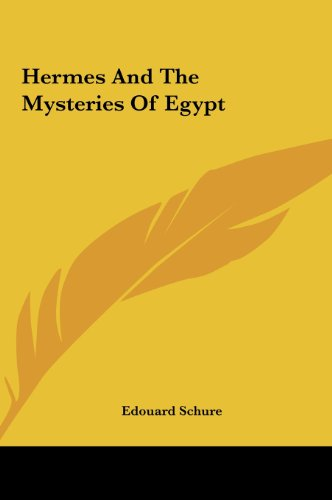 9781161588613: Hermes And The Mysteries Of Egypt