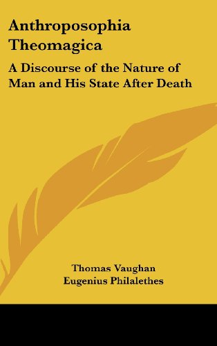 9781161589016: Anthroposophia Theomagica: A Discourse of the Nature of Man and His State After Death