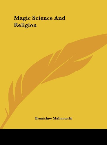 9781161591316: Magic Science And Religion