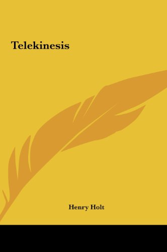9781161599244: Telekinesis