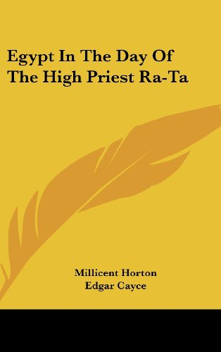 9781161603767: Egypt In The Day Of The High Priest Ra-Ta