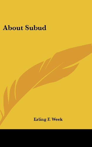 9781161603989: About Subud