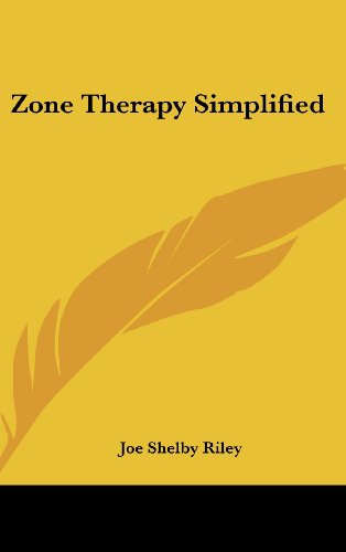 9781161609219: Zone Therapy Simplified