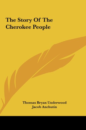 9781161615197: The Story Of The Cherokee People