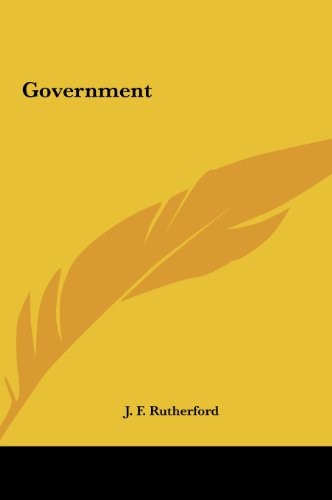 9781161616552: Government
