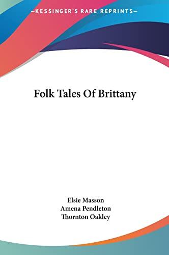 9781161627039: Folk Tales Of Brittany