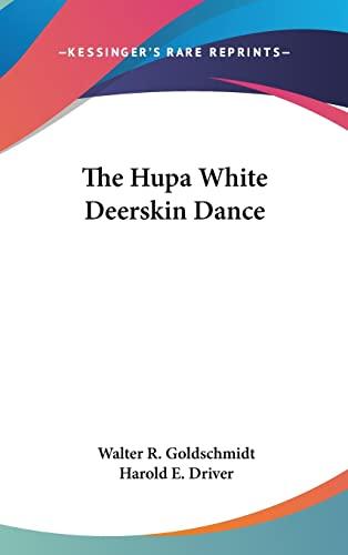 9781161629408: The Hupa White Deerskin Dance