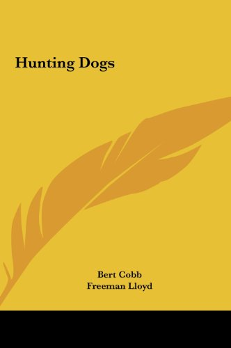 9781161629873: Hunting Dogs