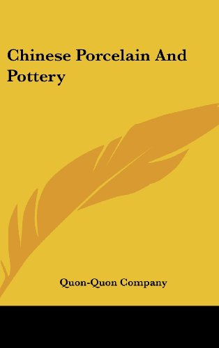 9781161636413: Chinese Porcelain And Pottery