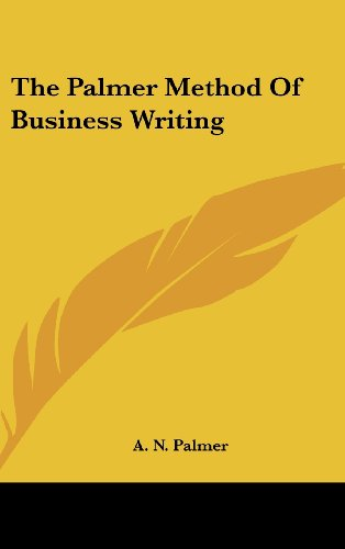 9781161637922: The Palmer Method of Business Writing
