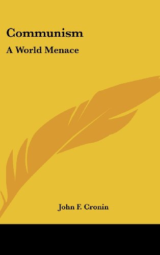 9781161638189: Communism: A World Menace