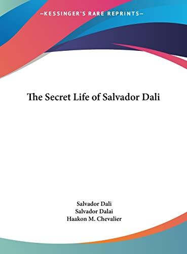9781161638455: The Secret Life of Salvador Dali
