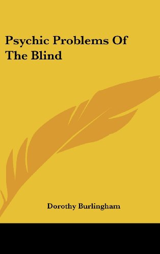 9781161640229: Psychic Problems Of The Blind