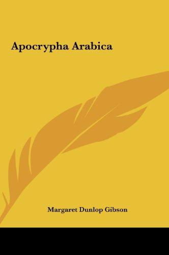 9781161648515: Apocrypha Arabica