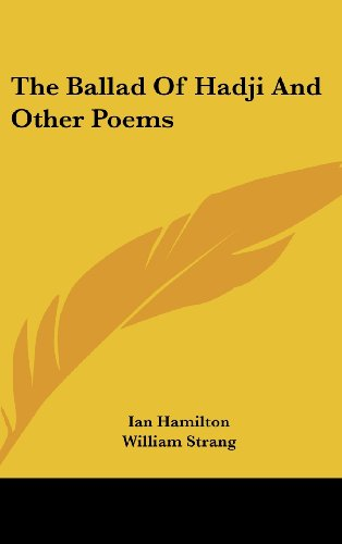 9781161652208: The Ballad of Hadji and Other Poems