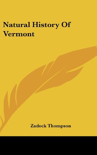 9781161673227: Natural History of Vermont