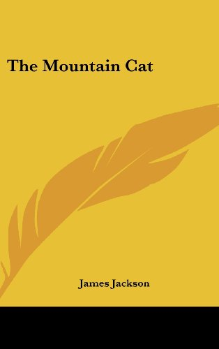 9781161673708: The Mountain Cat