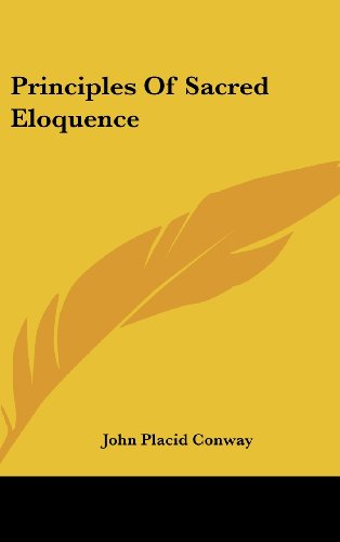 9781161677386: Principles Of Sacred Eloquence