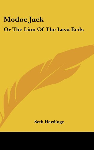 9781161682113: Modoc Jack: Or the Lion of the Lava Beds