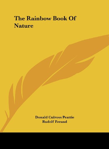 9781161687286: The Rainbow Book Of Nature