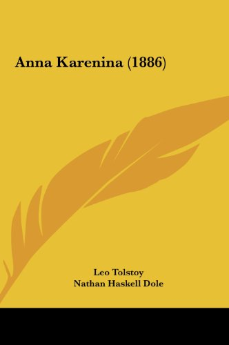 9781161753844: Anna Karenina (1886)