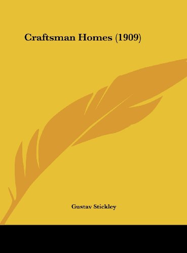 9781161776683: Craftsman Homes (1909)