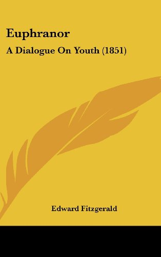 9781161781397: Euphranor: A Dialogue on Youth (1851)