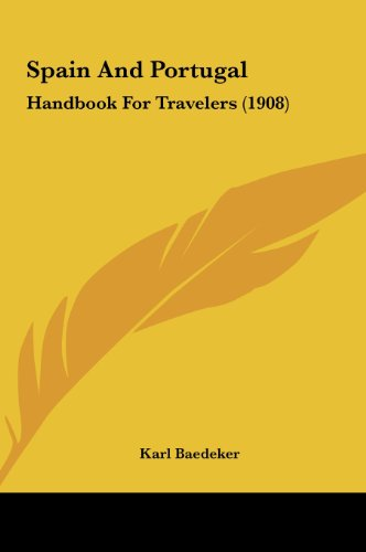 9781161791013: Spain And Portugal: Handbook For Travelers (1908)
