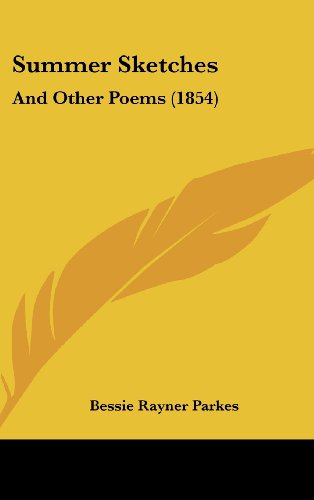 9781161798654: Summer Sketches: And Other Poems (1854)