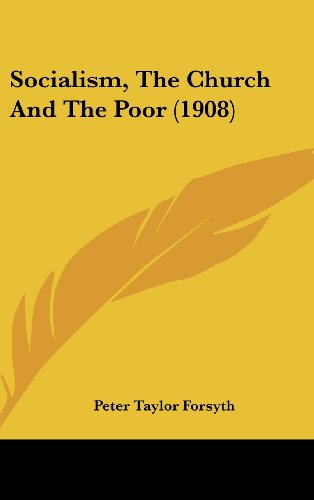 9781161804416: Socialism, The Church And The Poor (1908)
