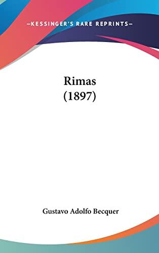 9781161806113: Rimas (1897)