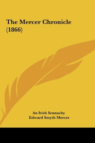 9781161813227: The Mercer Chronicle (1866)